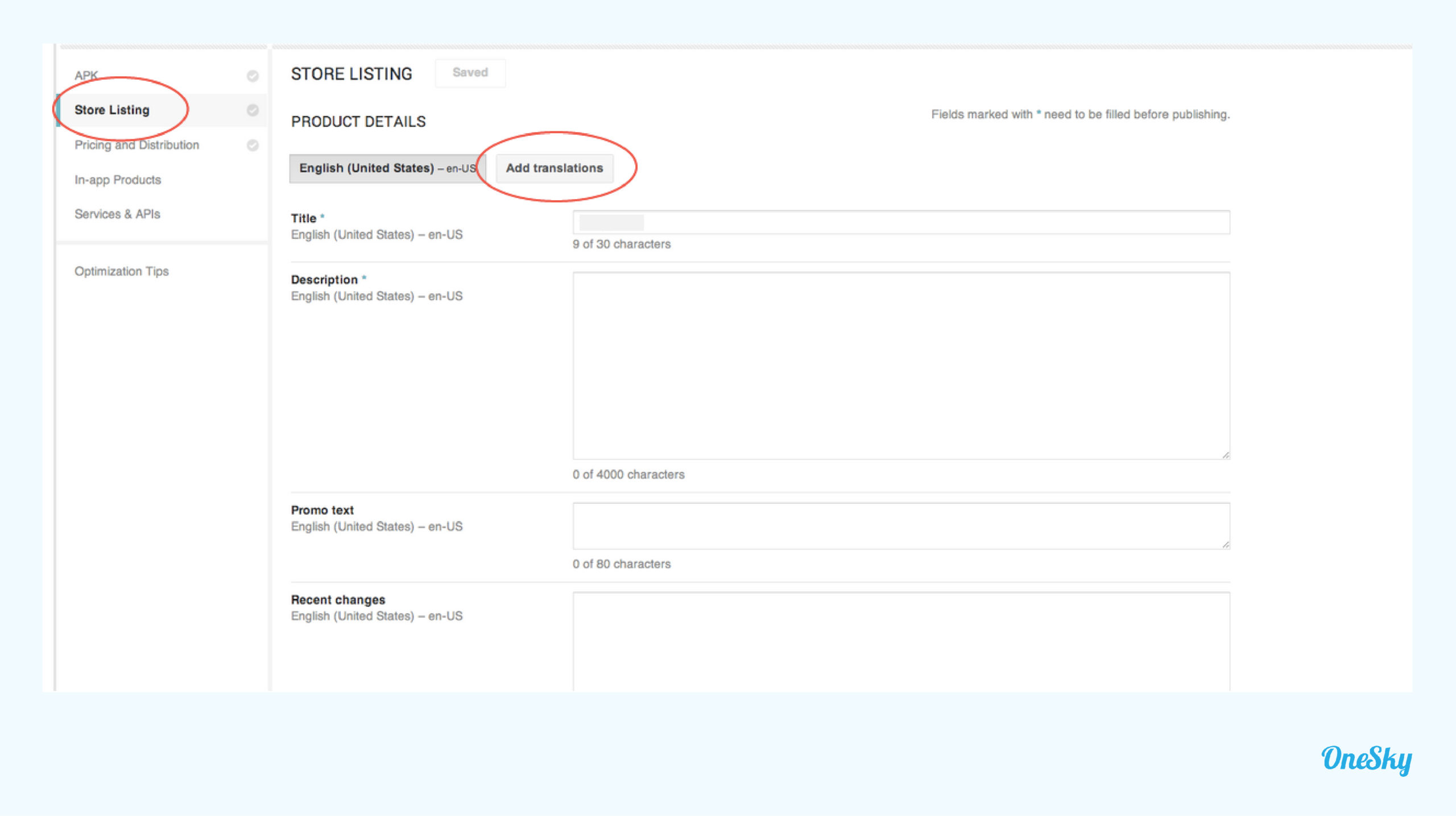 Localize Your Store Listing For Google Play Languages