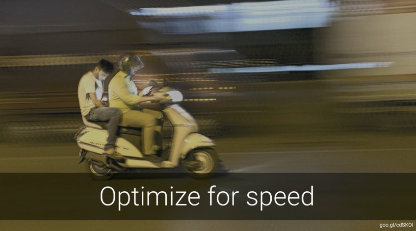 optimize for speed