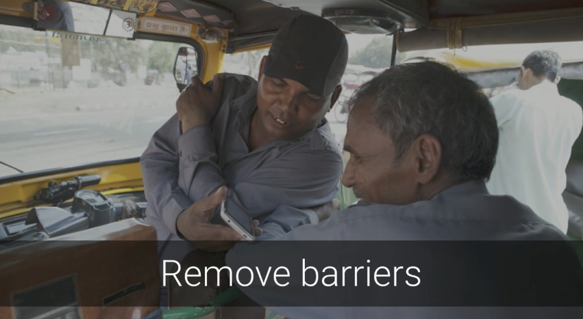 remove barriers