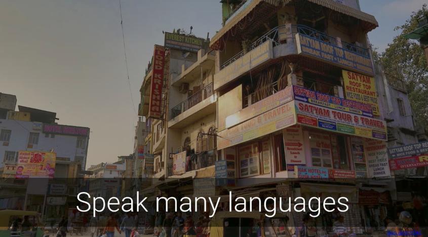 speak many languages