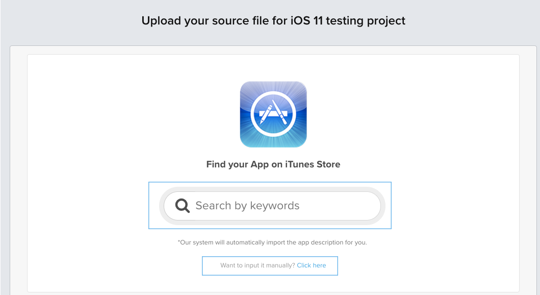 ios 11 create project